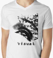 EYE OF VISION Mens V-Neck T-Shirt