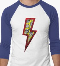 SKULL STRIKE Men's Baseball ¾ T-Shirt