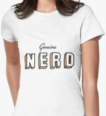 OLD SCHOOL NERD Women's Fitted T-Shirt