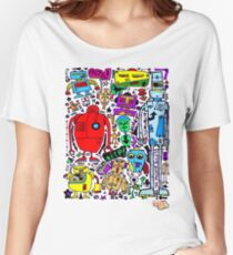 CRAZY DOODLE 3 Women's Relaxed Fit T-Shirt