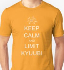 Keep Calm and Limit Kyuubi Unisex T-Shirt