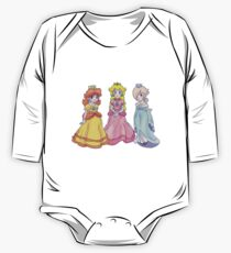Princess Peach, Rosalina and Princess Daisy One Piece - Long Sleeve
