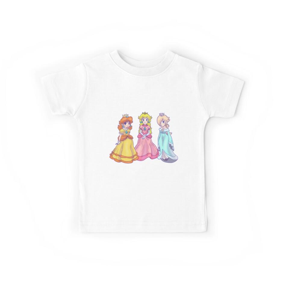 Princess Peach, Rosalina and Princess Daisy by SaradaBoru
