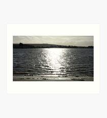Bembridge Harbour, Isle of Wight Art Print