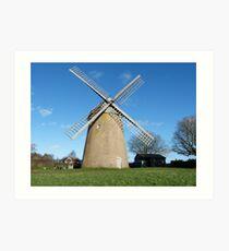 Bembridge Windmill, Isle of Wight Art Print