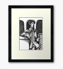 Sherlock - Alternative Universe Framed Print