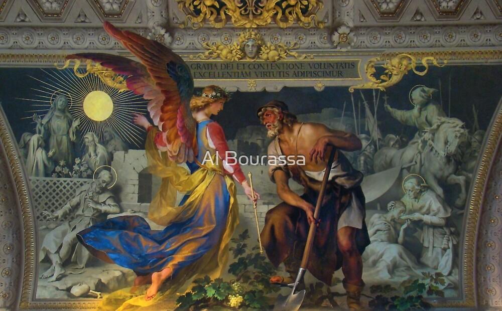 Vatican Art II by Al Bourassa