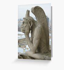 Gargoyle Greeting Card