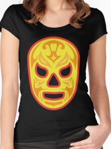 Luchador - Santo Fuego Women's Fitted Scoop T-Shirt