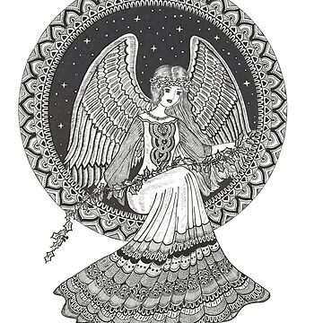 Guardian Angel art by rkrishnappa