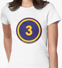 #3 - Daniel Ricciardo (Red Bull Racing) Women's Fitted T-Shirt