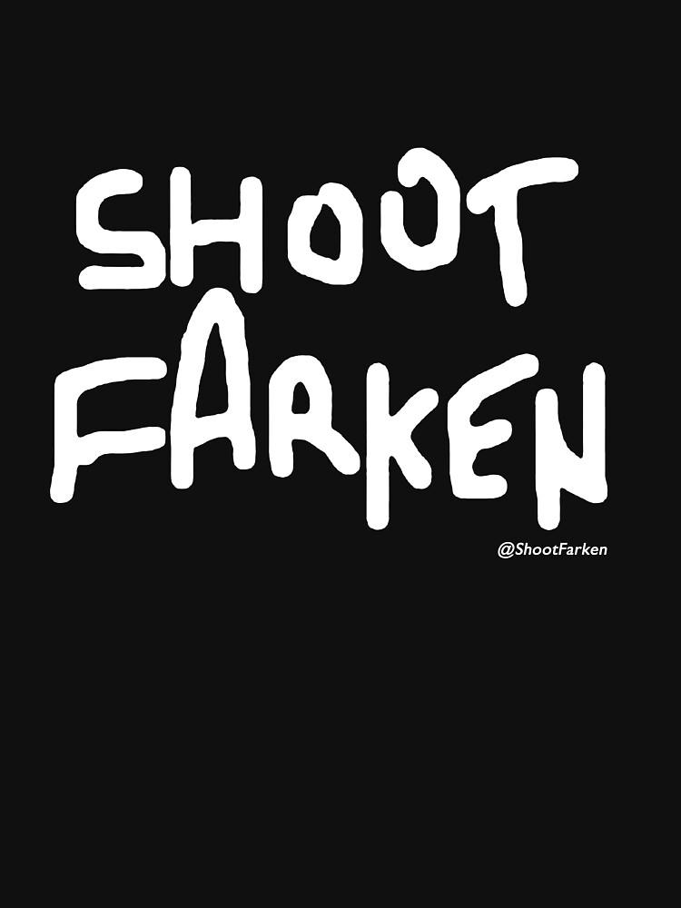 Shoot Farken White Logo by ShootFarken
