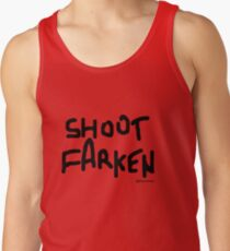 Shoot Farken Black Logo Tank Top