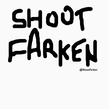 Shoot Farken Black Logo by ShootFarken