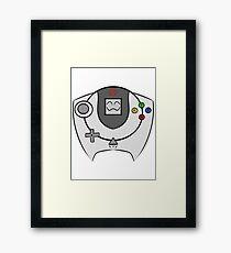 SEGA HAPPY DREAMCAST Framed Print