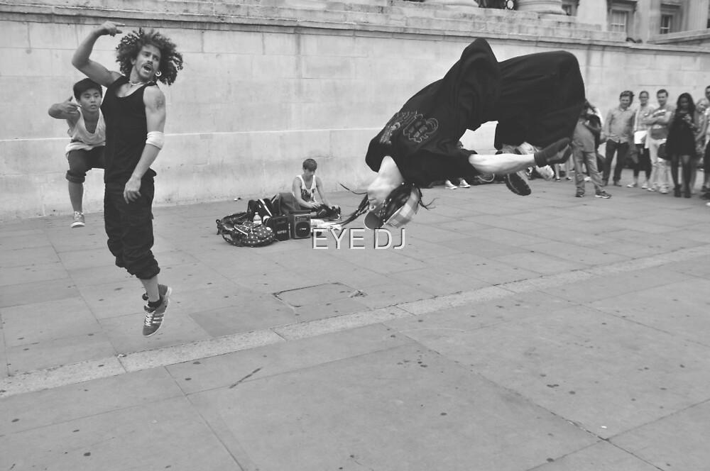 Meanwhile in Trafalgar Square... by EYE DJ