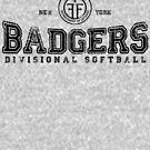 Property of New York Badgers Fringe Divisional Softball by M Dean Jones