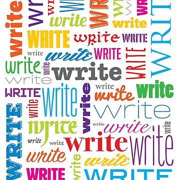 Write. Now. by floresarts