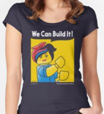 WE CAN BUILD IT! Women's Fitted Scoop T-Shirt