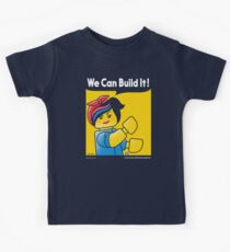 WE CAN BUILD IT! Kids Tee