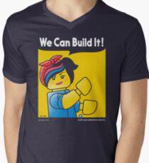 WE CAN BUILD IT! Men's V-Neck T-Shirt