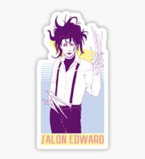 Salon Edward Sticker