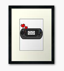 SEGA GAME HAPPY GEAR Framed Print