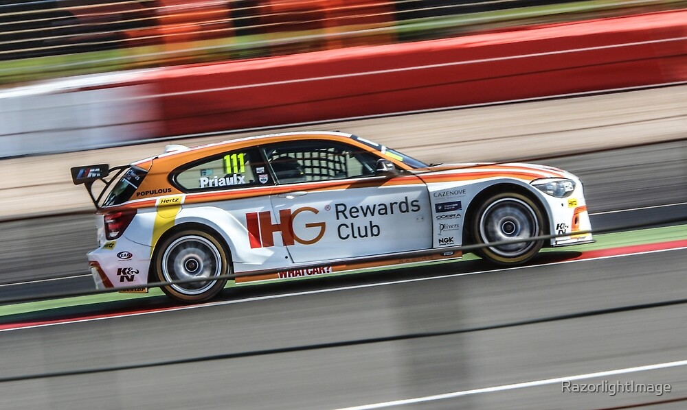 Andy Priaulx WSR BTCC by RazorlightImage