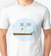 Mr and Mrs Birds T-Shirt