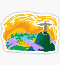 Beautiful Brasil Sticker