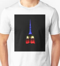 Red White & Blue Empire State Building T-Shirt