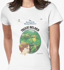 Trixie Belden Book Cover Women's Fitted T-Shirt