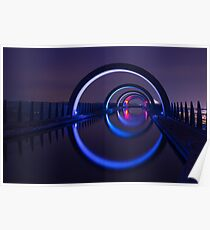 Falkirk Wheel Approach Aqueduct Poster