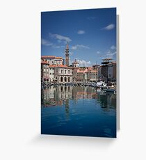 Piran in the sun Greeting Card