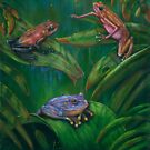 Poision Frogs by owen  pointon