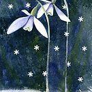 Snowdrops, Snowflakes and Sparkle by Jacki Stokes