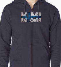 Kimi Raikkonen - Finnish Flag Zipped Hoodie