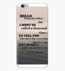 Adele - Hello iPhone Case