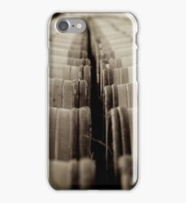 Barrels iPhone Case/Skin