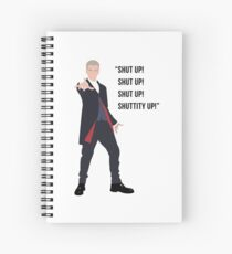 The Twelfth Doctor Spiral Notebook