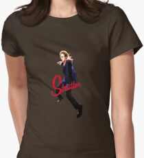 Mike Strutter Womens Fitted T-Shirt