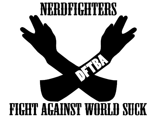 Fight World Suck by Franceen Loy