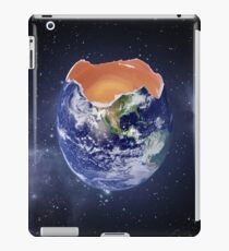 Funny Earth Egg iPad Case/Skin