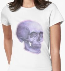 Salacious Skull Women's Fitted T-Shirt