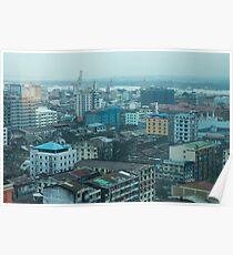 yangon city Poster