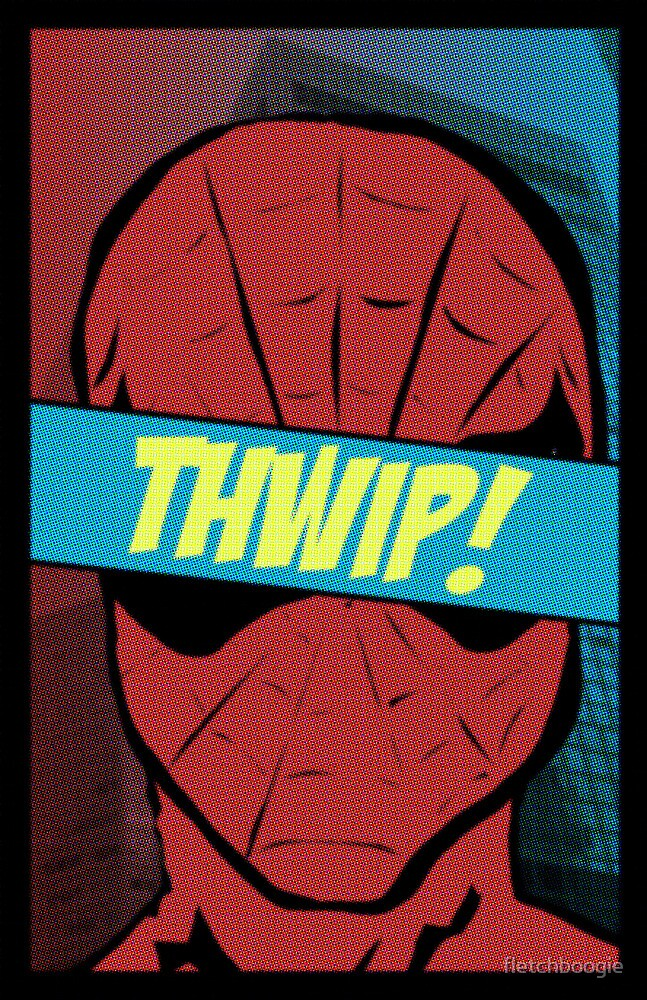 Spidey Thwip! by fletchboogie