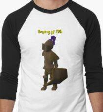 Camiseta ¾ bicolor para hombre comprando gf