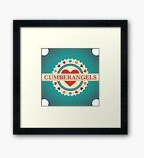 Cumberangels logo Framed Print
