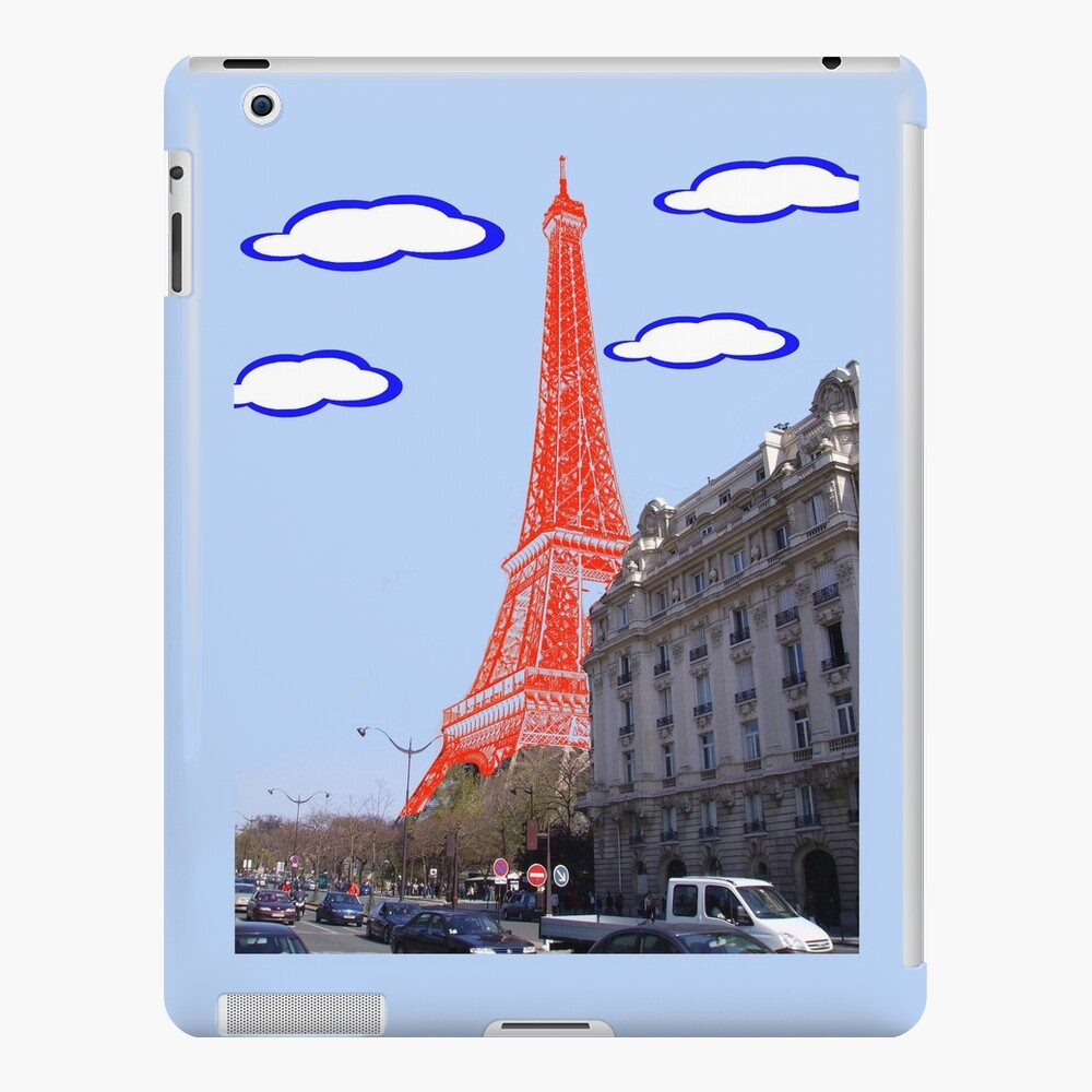 Eiffel Tower - Real to Imaginary Funda y vinilo para iPad