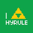 I Triforce Hyrule by Haragos
